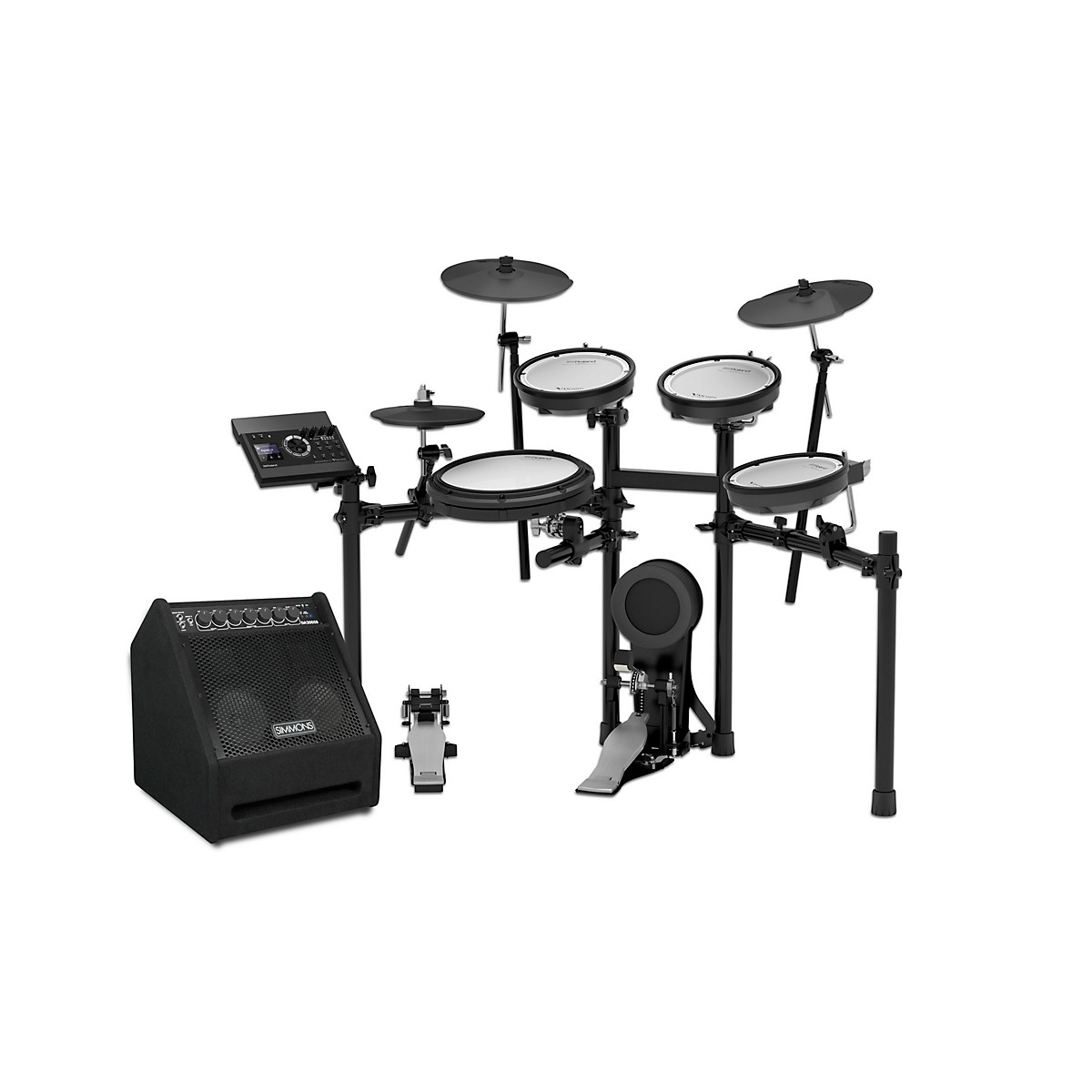 Roland TD-17KV Electronic Drum Kit with DA200SB Bundle