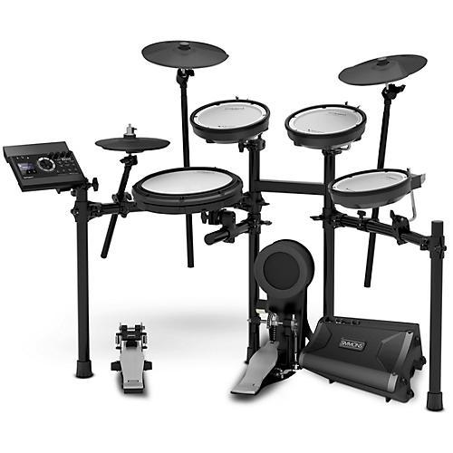 Roland TD-17KV V-Drums Electronic Drum Set With Simmons DA2108 Drum Set Monitor