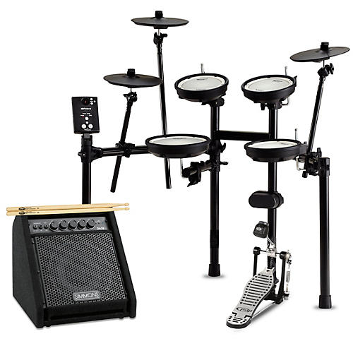 Roland TD-1DMK Electronic Drum Set with Simmons DA50B Bluetooth Monitor Starter Bundle
