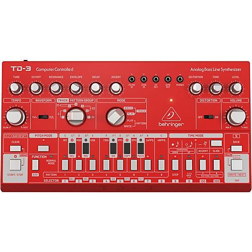 Behringer TD-3 Analog Bass Line Synthesizer