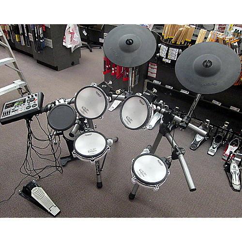used roland td 8 electronic drum set electronic drum set guitar center. Black Bedroom Furniture Sets. Home Design Ideas