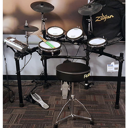 used roland td 9 kx v drums electric drum set guitar center. Black Bedroom Furniture Sets. Home Design Ideas