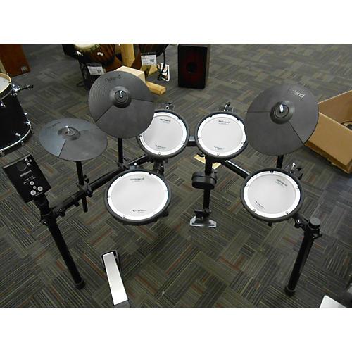 used roland td1 dmk electric drum set guitar center. Black Bedroom Furniture Sets. Home Design Ideas