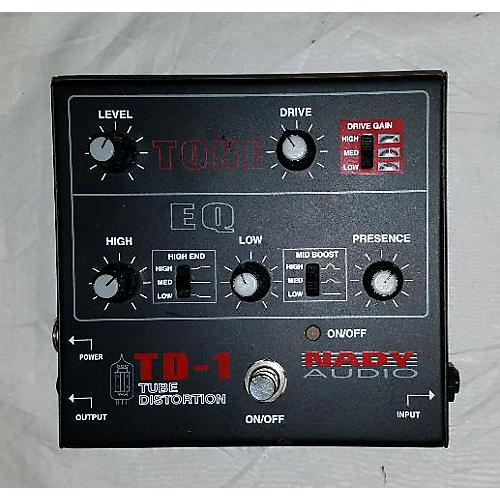 Nady TD1 Tube Distortion Effect Pedal