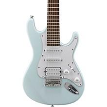 TD100 Short-Scale Electric Guitar Powder Blue 3-Ply White Pickguard