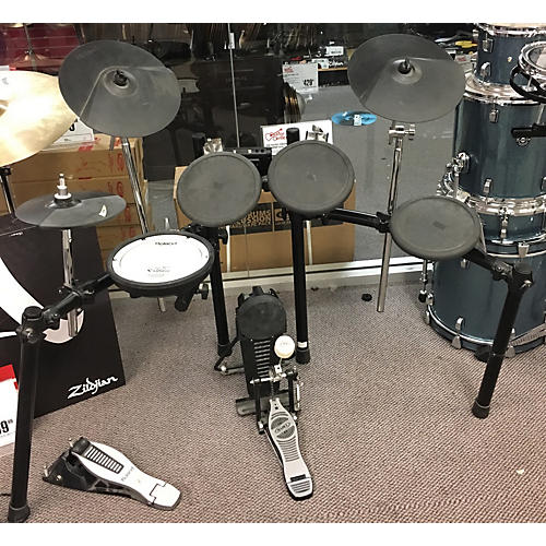 used roland td4 electric drum set guitar center. Black Bedroom Furniture Sets. Home Design Ideas