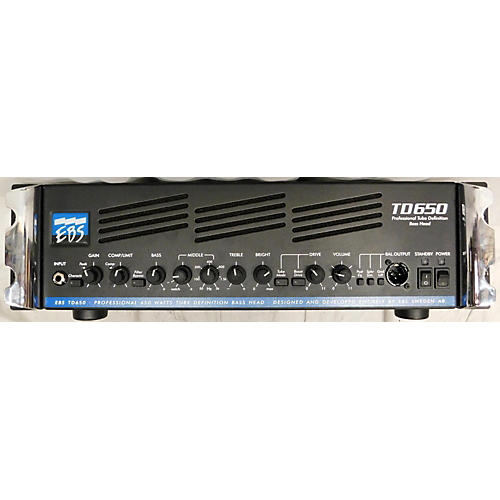 used ebs td650 tube bass amp head guitar center. Black Bedroom Furniture Sets. Home Design Ideas