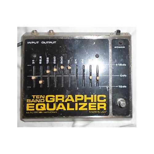 Electro-Harmonix TEN BAND GRAPHIC EQUALIZER Pedal