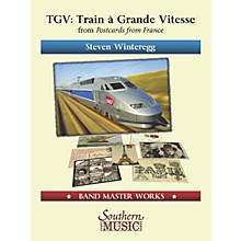 Lauren Keiser Music Publishing TGV (Train á Grande Vitesse) from Postcards from France Concert Band Level 4 Composed by Steven Winteregg