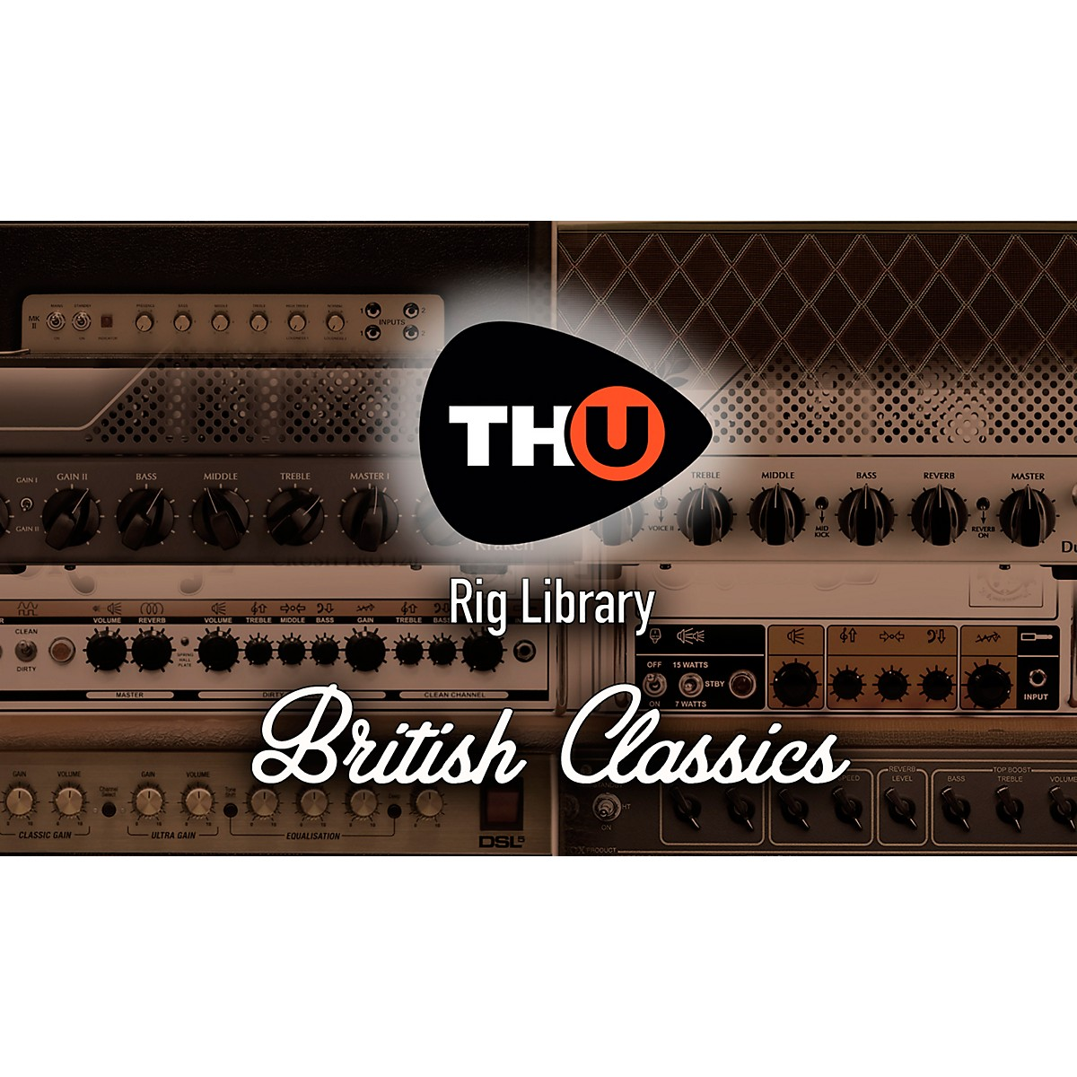 Overloud TH-U British Classics (Rig Library Expansion Pack, Requires Version of TH-U)