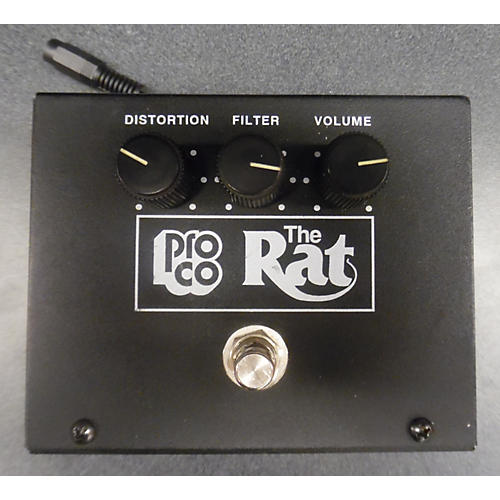 Pro Co THE RAT W/ LM308N CHIP Effect Pedal