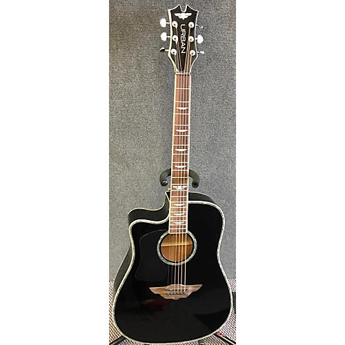 used keith urban the urban left handed acoustic electric guitar guitar center. Black Bedroom Furniture Sets. Home Design Ideas