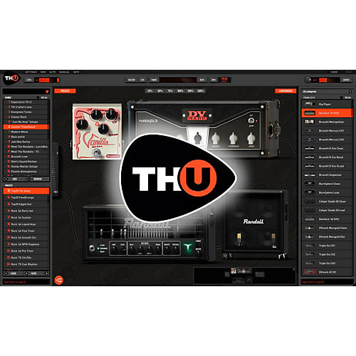Overloud THU Upgrade from TH-3