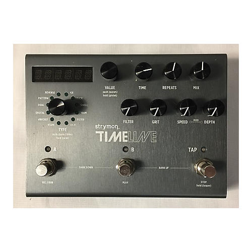 used strymon timeline effect pedal guitar center