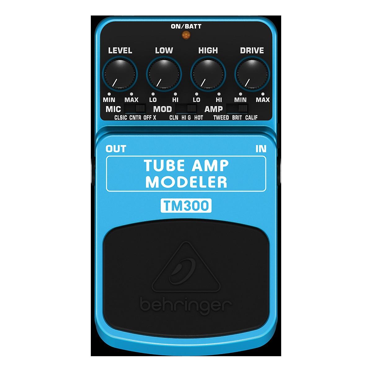 Behringer TM300 Tube Amp Modeler Effects Pedal
