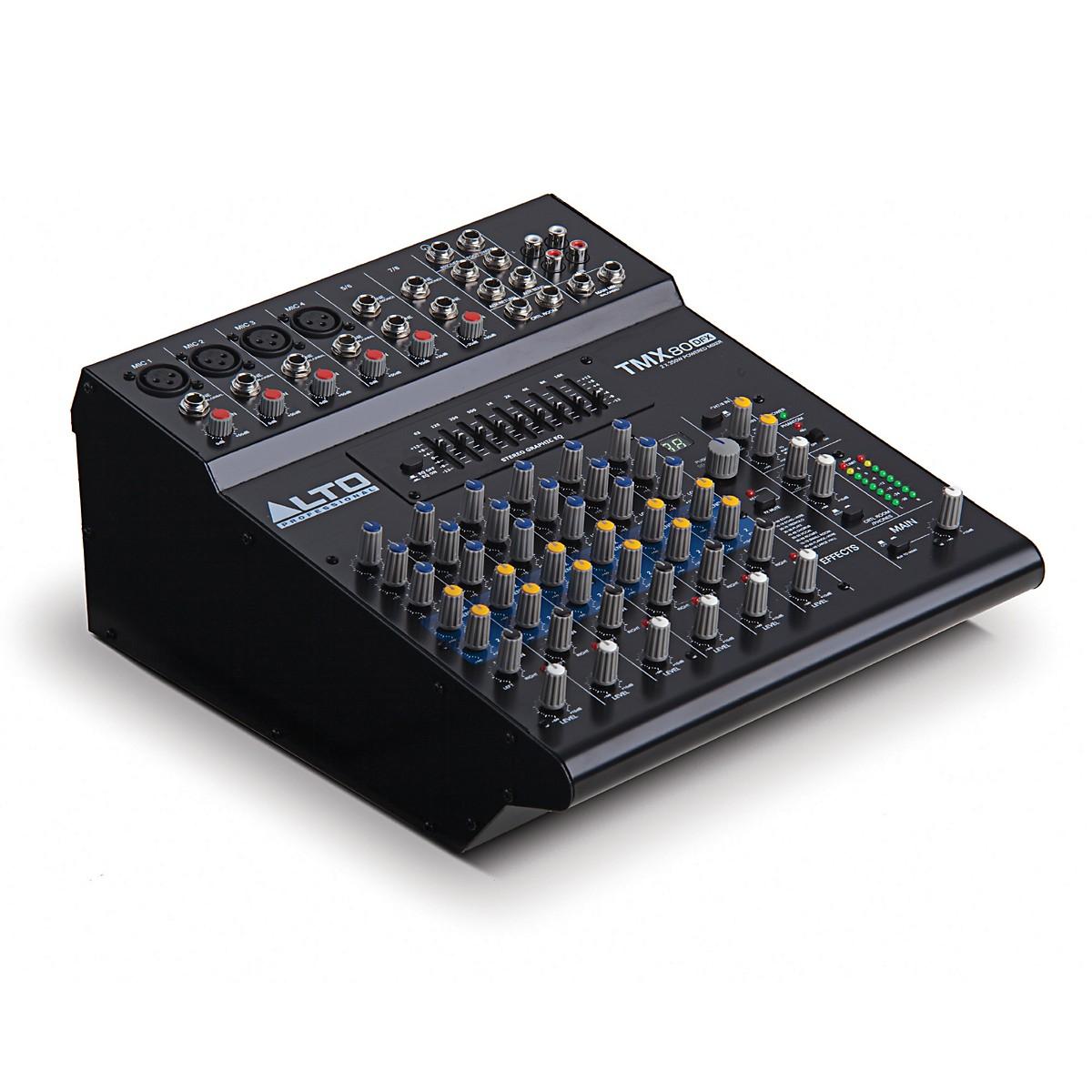 Alto TMX80 DFX 8-Channel Powered Mixer w/ FX