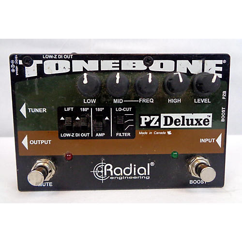 Radial Engineering TONEBONE PZ DELUXE Direct Box