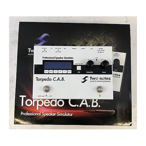 Two Notes Audio Engineering TORPEDO C.A.B. PROFESSIONAL SPEAKER SIMULATOR Pedal