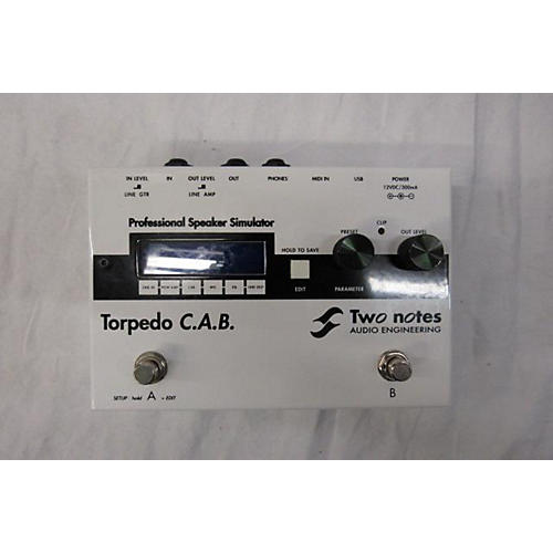 Two Notes Audio Engineering TORPEDO C.A.B. SIMULATOR Pedal