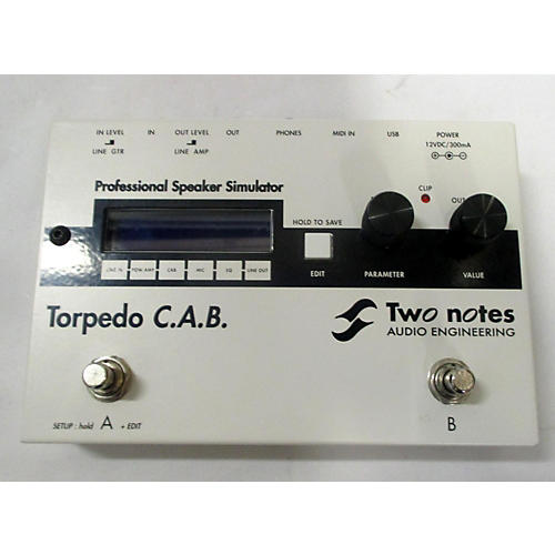 Two Notes Audio Engineering TORPEDO CAB Effect Processor
