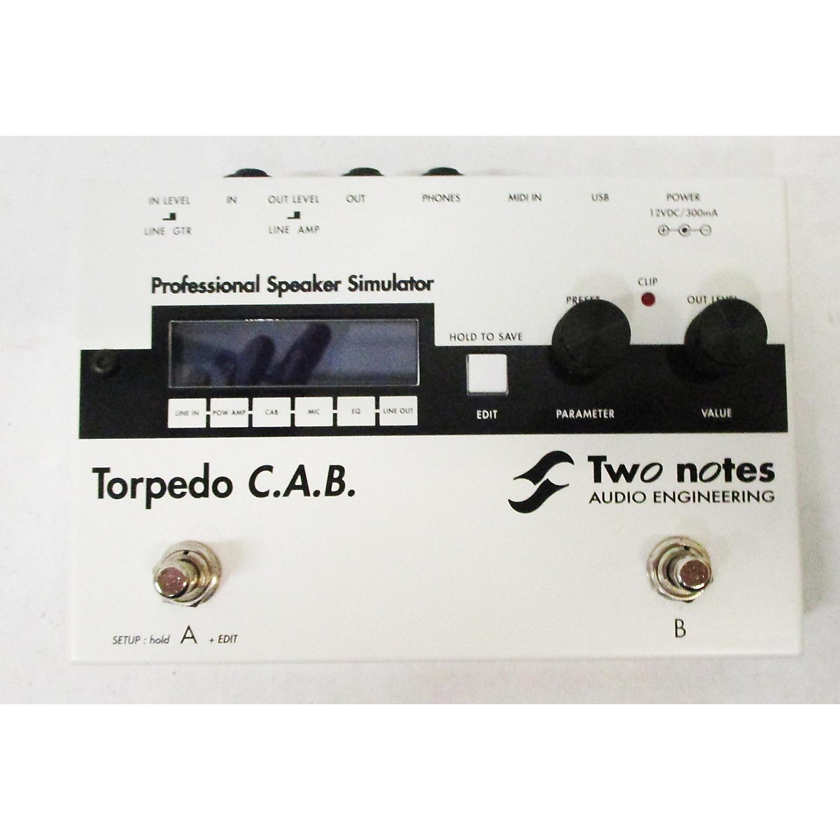 Two Notes Audio Engineering TORPEDO CAB Pedal