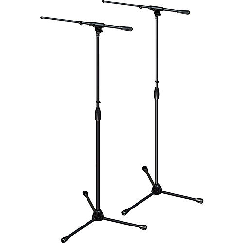 Ultimate Support TOUR-T-T Pkg - tripod base/telescoping boom,std height 2-Pack