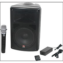 Galaxy Audio TQ8-20H0N Traveler Quest 8 All-In-One Portable PA System With One Receiver And One Handheld Microphone Level 1