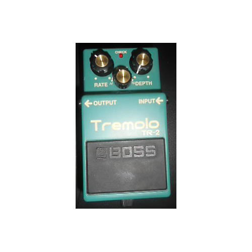 Boss TR2 Tremolo Green Effect Pedal