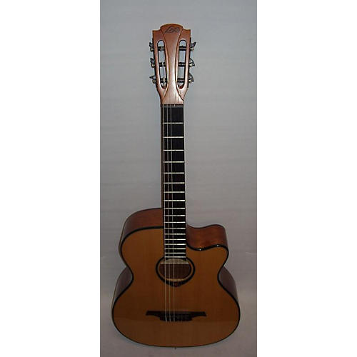 used lag guitars tramontane tn66ace classical acoustic electric guitar natural guitar center. Black Bedroom Furniture Sets. Home Design Ideas