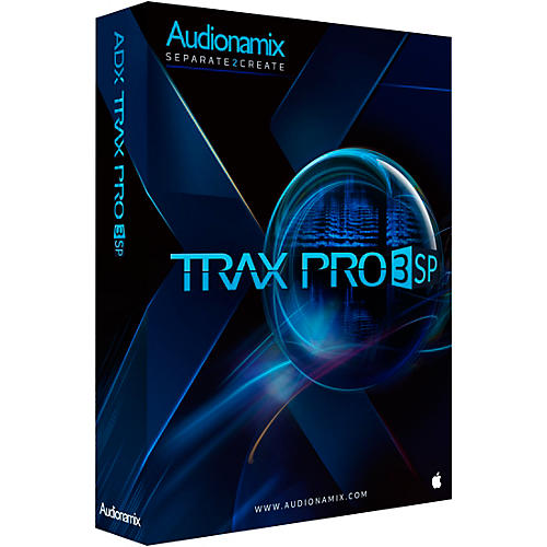 Audionamix TRAX PRO 3 SP EDU Software Download