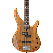 TRBX174EW Mango Wood 4-String Electric Bass Guitar Natural