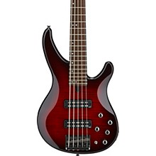 TRBX605FM 5-String Electric Bass Dark Red Burst