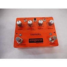 Empress Effects TREMELO 2 Effect Pedal
