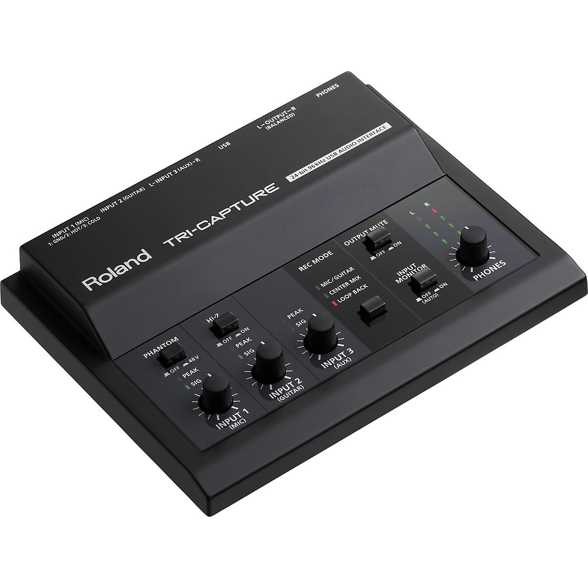 Roland TRI-CAPTURE: USB Audio Interface