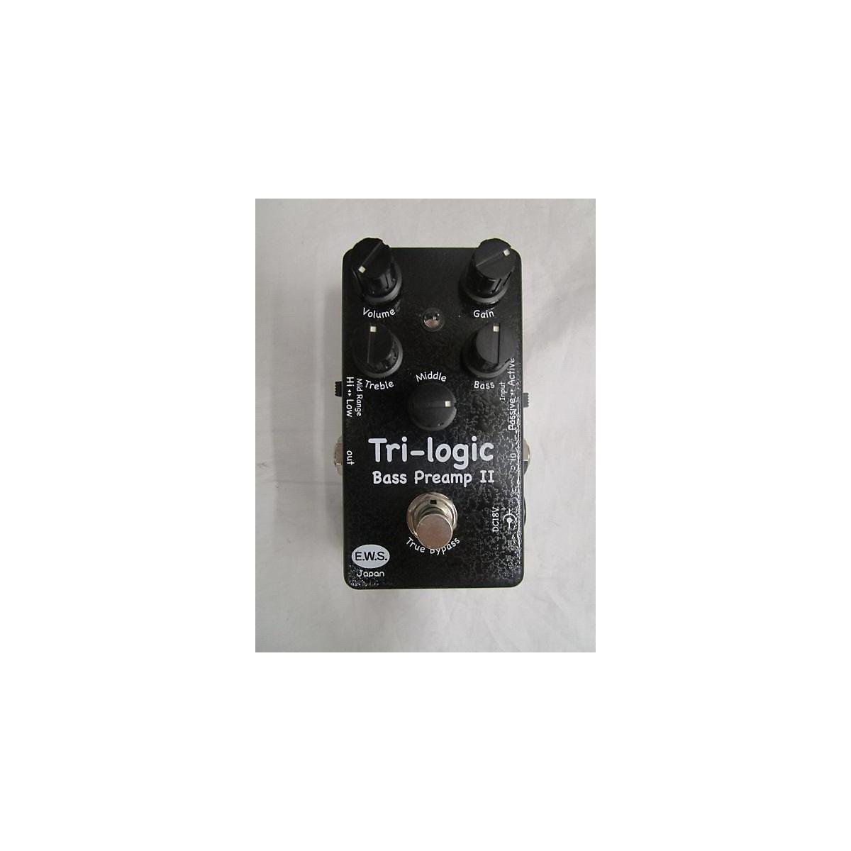 EWS TRI LOGIC Bass Effect Pedal