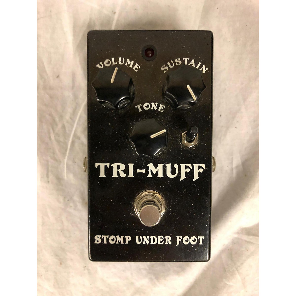 Stomp Under Foot TRI-MUFF Effect Pedal