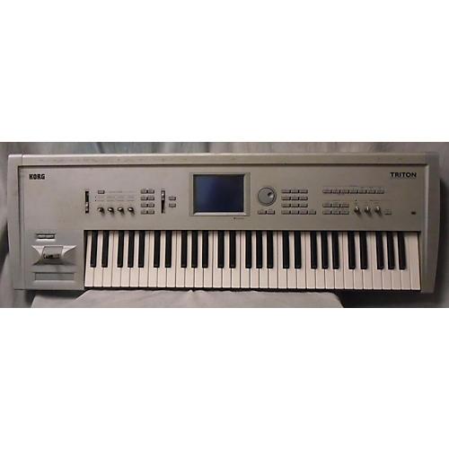 used korg triton 61 keyboard workstation guitar center. Black Bedroom Furniture Sets. Home Design Ideas