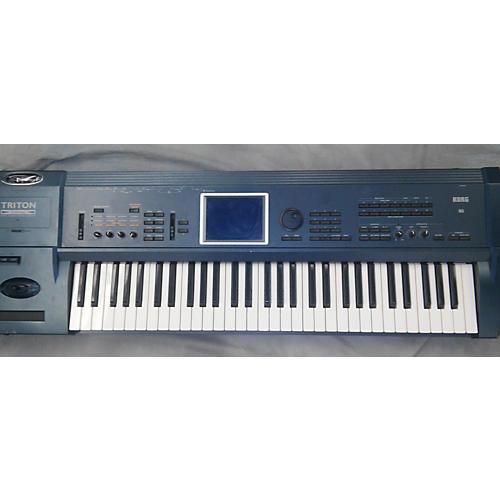 used korg triton extreme 61 keyboard workstation guitar center. Black Bedroom Furniture Sets. Home Design Ideas