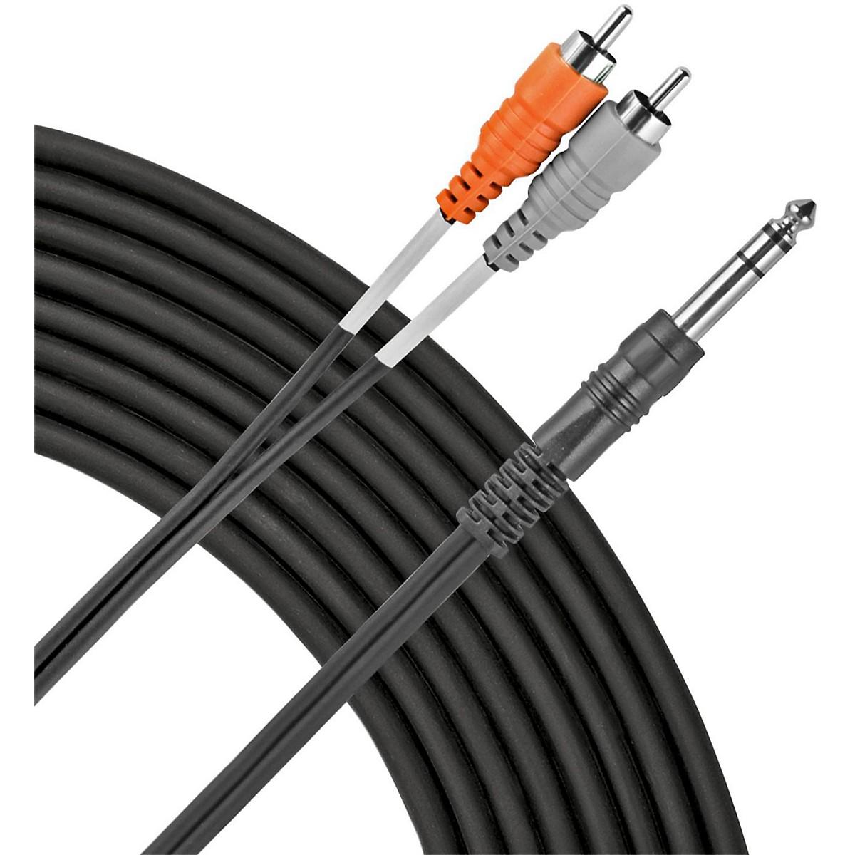 Livewire TRS(M)-Dual RCA Patch Cable