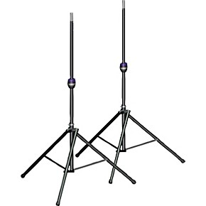 Ultimate Support Ts 99bl Tall Leveling Leg Speaker Stand
