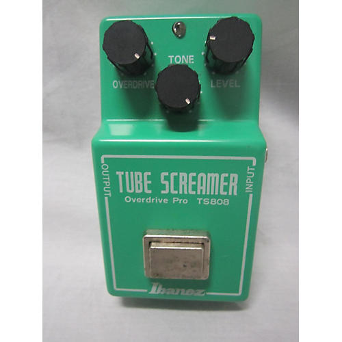 Ibanez TS808 Reissue Tube Screamer Distortion Effect Pedal