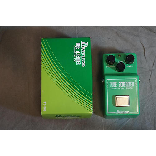 Ibanez TS808 Reissue Tube Screamer Distortion Green Effect Pedal