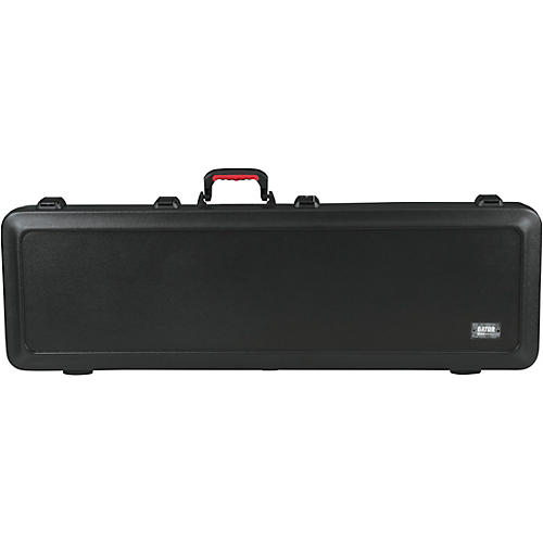Gator TSA ATA Molded Electric Bass Guitar Case with LED Ligh