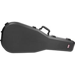 TSA Series ATA Molded Acoustic Guitar Case Black