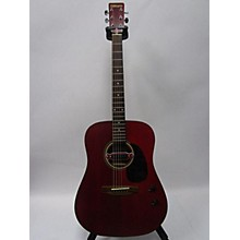 Tanara TSD10WR Acoustic Electric Guitar