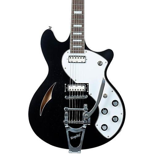 Schecter Guitar Research TSH-1B Semi-Hollow Body Electric Guitar