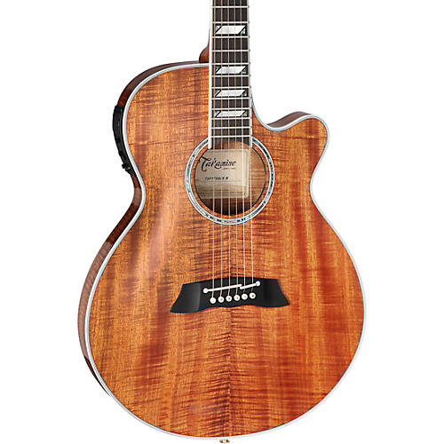 Takamine TSP178ACK Koa Thinline Acoustic-Electric Guitar