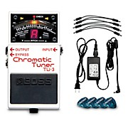 TU-3 Chromatic Tuner Pedal Power Solution Bundle