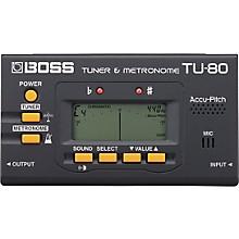 Boss TU-80 Guitar Tuner & Metronome