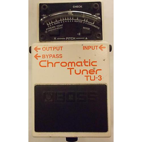 Boss TU3 Chromatic Alpine White Tuner Pedal